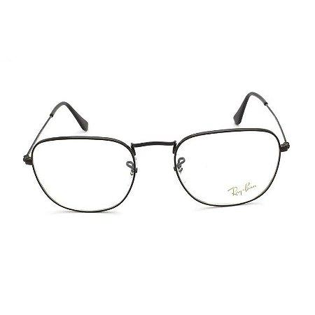 Óculos  Ray Ban Frank Metal Preto RB3857-V