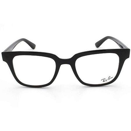 Óculos Ray Ban Quadrado Preto RB4323VL
