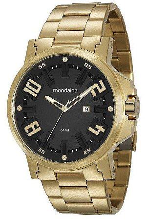 Relógio Mondaine Masculino Dourado 99233GOMVS1