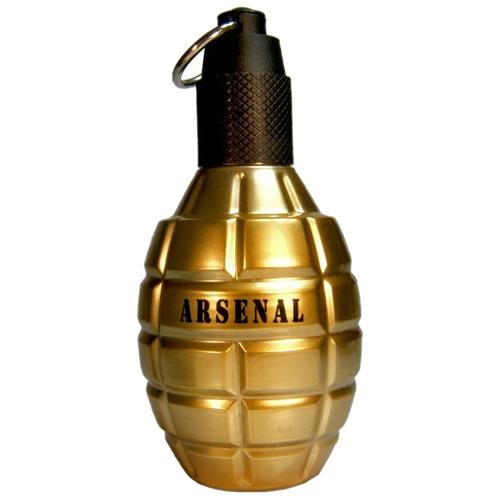 Perfume Gilles Cantuel Arsenal Gold Masculino 100ml