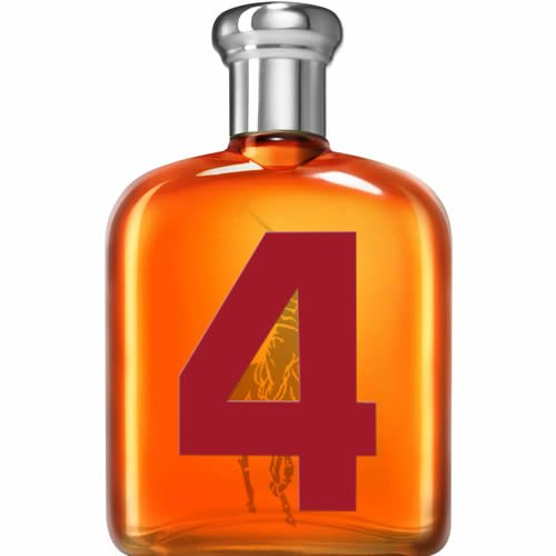 Perfume Ralph Lauren Polo Big Pony orange 4 EDT Masculino 125ml
