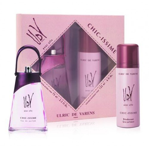 Kit UDV Pour Elle Chic-Issime - Perfume 75ml + Desodorante 125ml