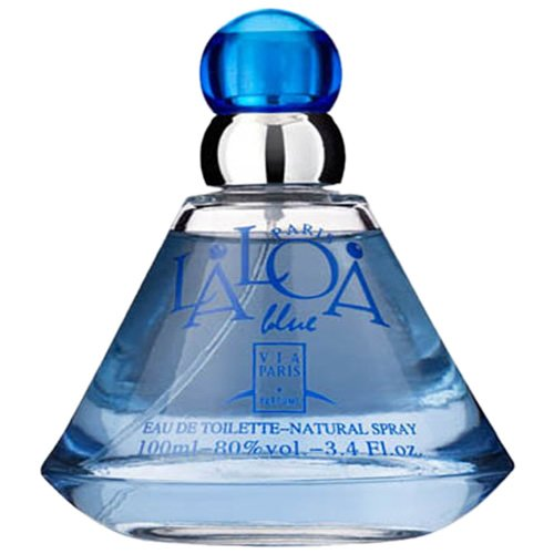 Perfume Via Paris Laloa Blue EDT Feminino 100ml