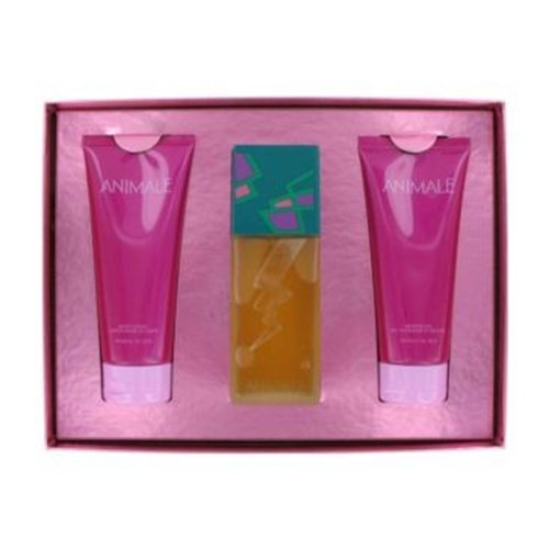 Kit Animale Feminino - Perfume EDP 100ml + Shower Gel 200ml + Body Lotion 200ml