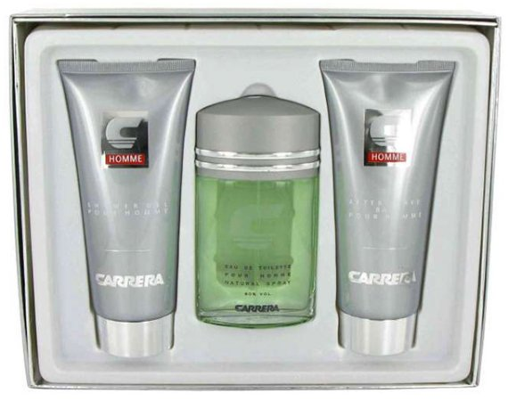 Kit Perfume Carrera Tradicional - Perfume EDT 100ml + After Shave 200ml + Shower Gel 200ml