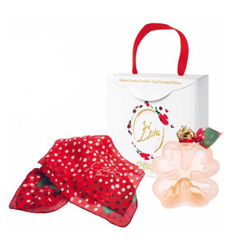 Kit Lolita Lempicka Si Lolita Limited Edition - Perfume 50ml + Lenço