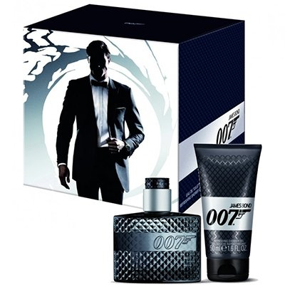 Kit James Bond 007 - Perfume EDT 30ml + Shower Gel 50ml