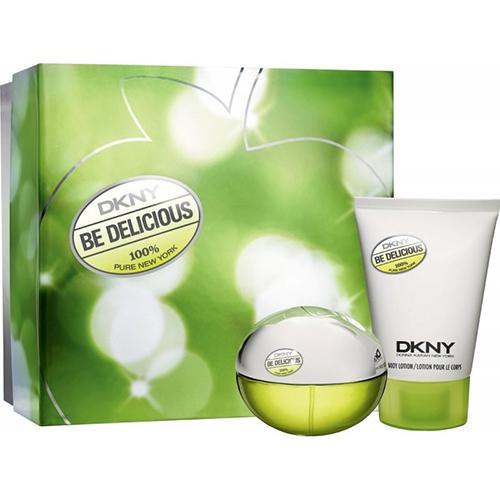 Kit DKNY Be Delicious - 1 Perfume 30ml + 1 Body Lotion 100ml