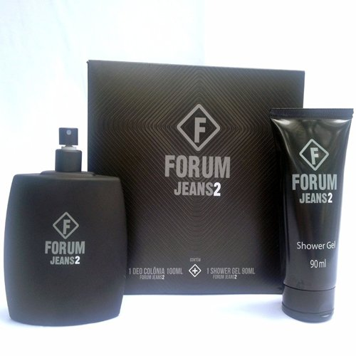 Kit Fórum Jeans 2 - Perfume 100ml + Shower Gel 100ml