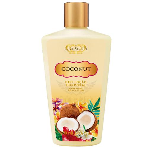 Loção Corporal Bio Company Love Secrets Coconut 250ml