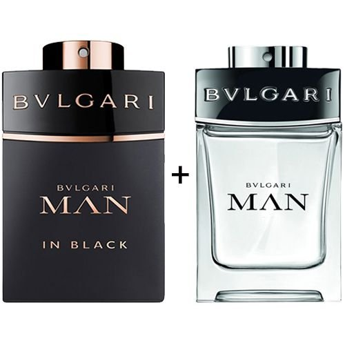 Combo Bvlgari Man In Black 100ml + Bvlgari Man 100ml