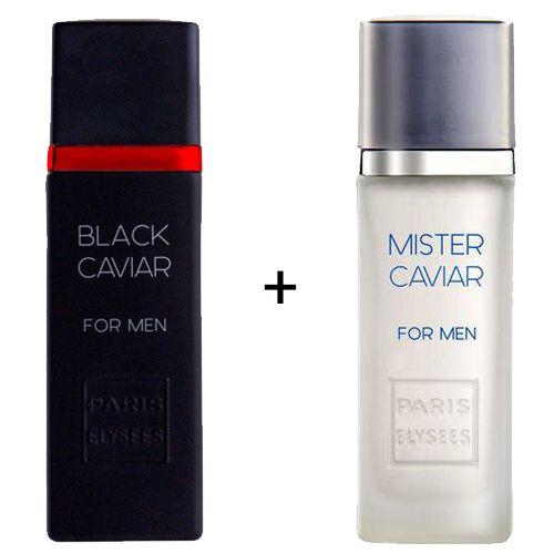 Combo Paris Elysees Black Caviar 100ml + Mister Caviar 100ml