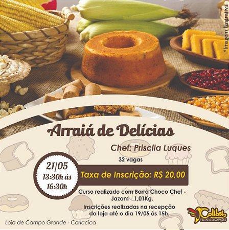 Curso arraiá de delicias