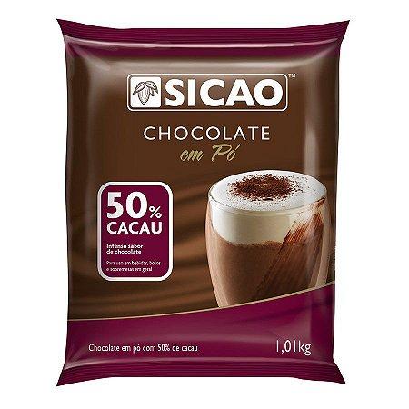 Chocolate Em Pó Sicao 50% 1,01kg