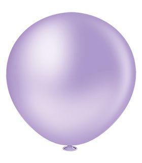 Balão Fatball 250 Liso Lilas Pic Pic