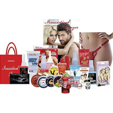 Kit Revendedora de Produtos Eróticos - Intermediário