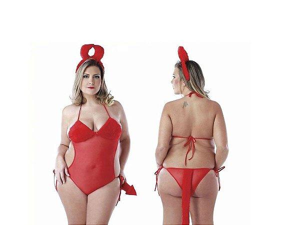 Fantasia Diabinha - Tam. Plus Size - Coleção Desejos