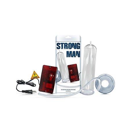 Bomba Peniana Elétrica - Strong Man - Reforçada - 220V