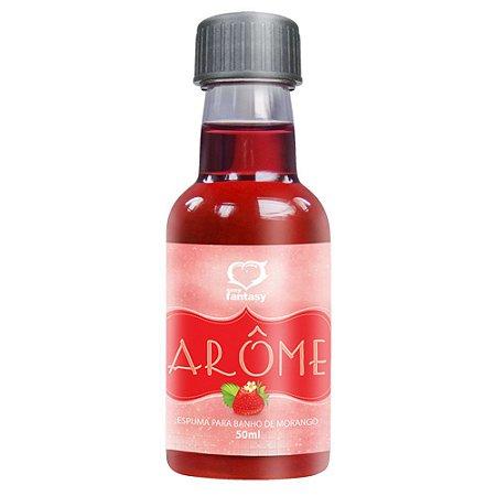 Espuma de Banho Afrodisíaca Aroma Morango Arôme 50ml