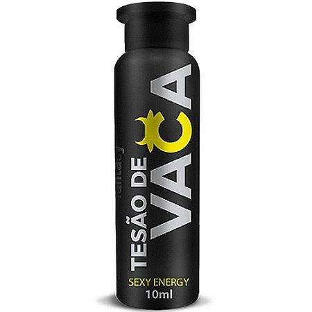Energético Excitante Sexual Feminino Tesão de Vaca 10 ml