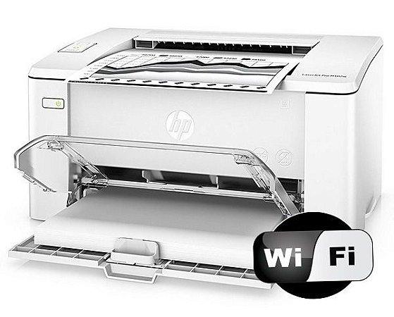Impressora HP M-102w M102w Pro Laserjet Wireless 102w  + Toner