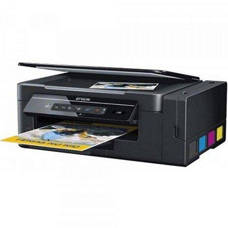 Impressora Multifuncional Epson Ecotank L395 - Brcf46302  Jato De Tinta Colorida Wireless Bivolt