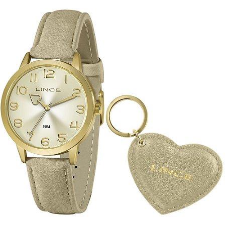 Relógio Lince Feminino LRC4671L Nude