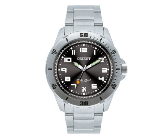 Relógio Orient Masculino MBSS1155A-G2SX Chumbo