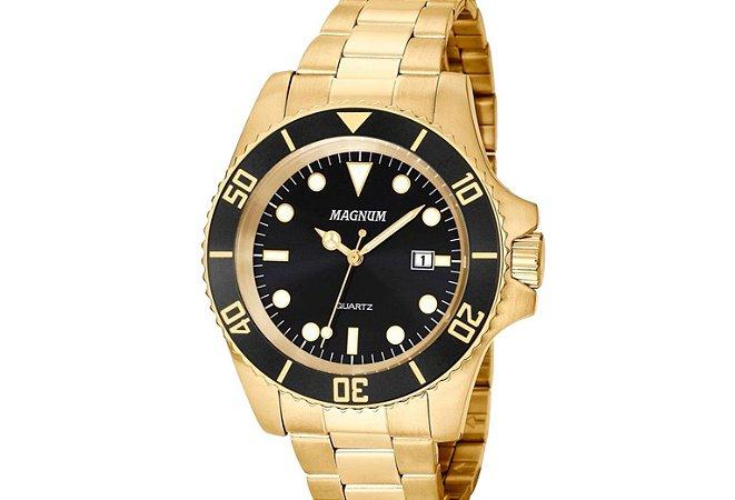 8d205ea00ff Relógio Magnum Masculino MA33068U - Relojoaria do Peixinho - Limeira SP