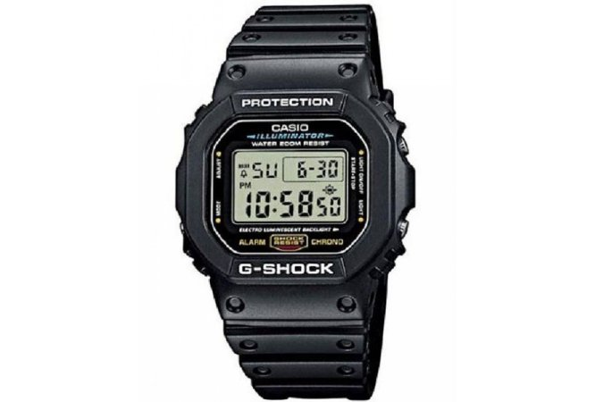 RELOGIO CASIO G-SHOCK DW-5600E-1VDF DIGITAL