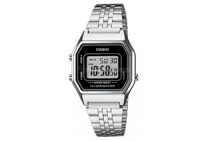 Relógio Casio Feminino Vintage LA680WA-1DF