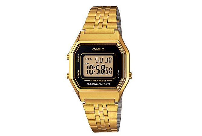 Relógio Casio Feminino Vintage LA680WGA-1DF - Dourado
