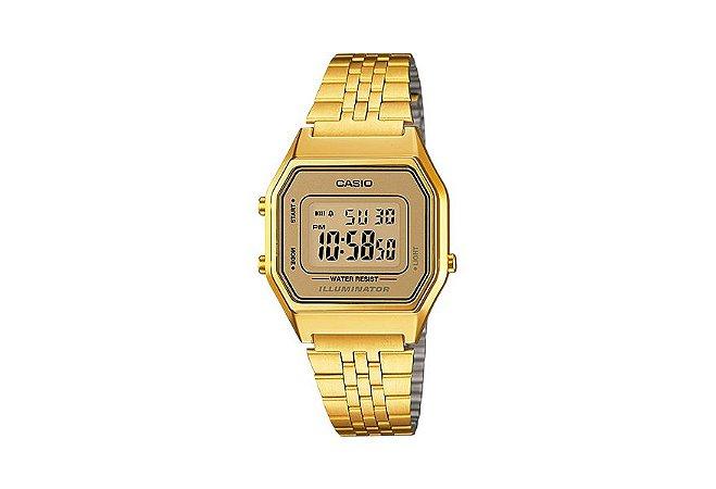 Relógio Casio Feminino Vintage LA680WGA-9DF - Dourado
