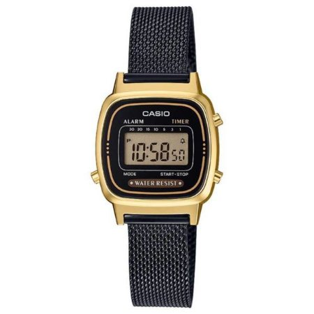 Relógio Casio Feminino Vintage LA670WEMB-1DF - Dourado e Preto