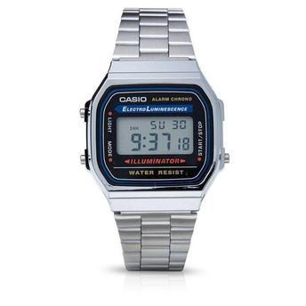 Relógio Casio Vintage A168WA-1WDF - Prata