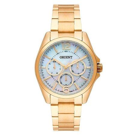 Relógio Orient Feminino FGSSM054-B2KX Multifunção Dourado