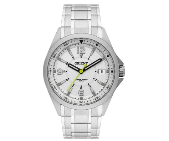 Relógio Orient Masculino MBSS1270-S2SX Análogo Aço Inox - Prata