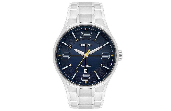 Relógio Orient Masculino MBSS1307-D2SX Análogo Aço Inox - Azul
