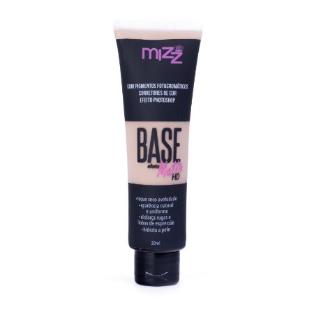 Base Líquida Matte HD Bege 02