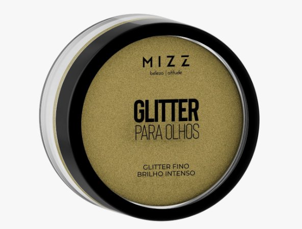 Glitter para Olhos Dourado