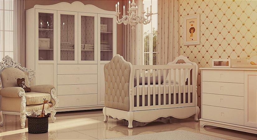 Dormitório completo Baby Linha Luxo Imperial