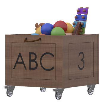 Caixa de Brinquedos-Linha casinha