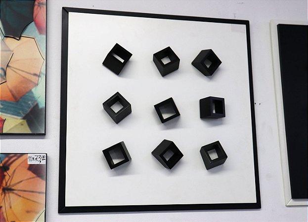 Quadro 08 - Geométrico Branco