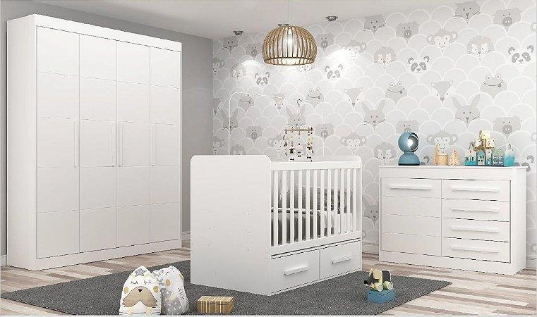 Dormitório Baby Linha Chocolate Branco