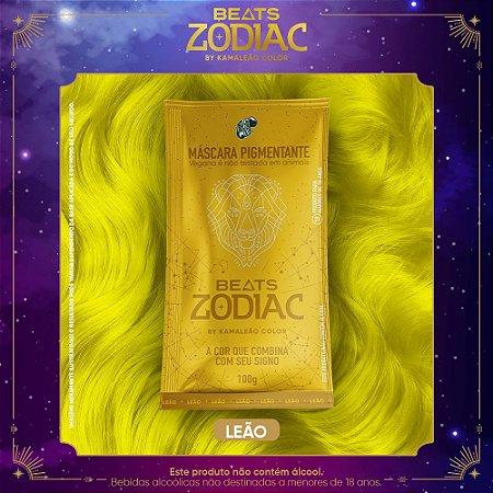 Máscara Pigmentante - Beats Zodiac by Kamaleão Color - Leão 100g