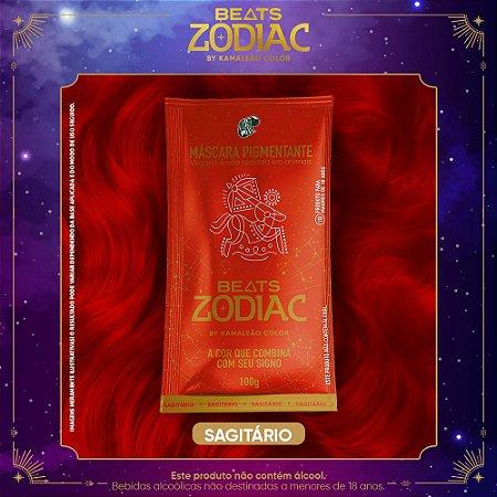 Máscara Pigmentante - Beats Zodiac by Kamaleão Color - Sagitário 100g
