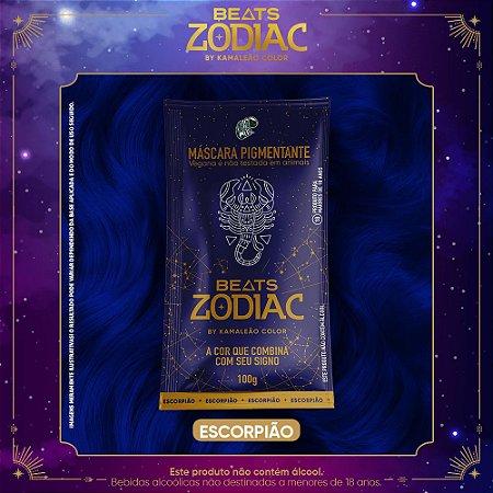 Máscara Pigmentante - Beats Zodiac by Kamaleão Color - Escorpião 100g