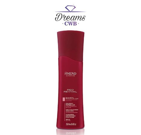 Shampoo Realce da Cor Vermelha Red Revival Amend - 250ml