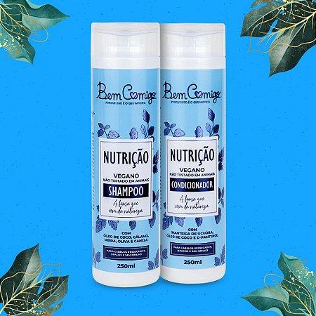 Kit Nutrição Bem Comigo (Shampoo + Condicionador)