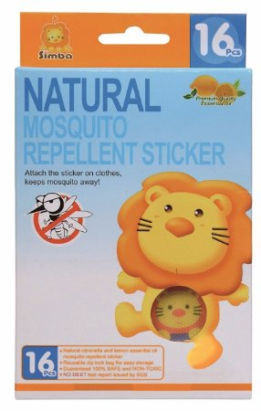 Adesivos com Repelente Natural